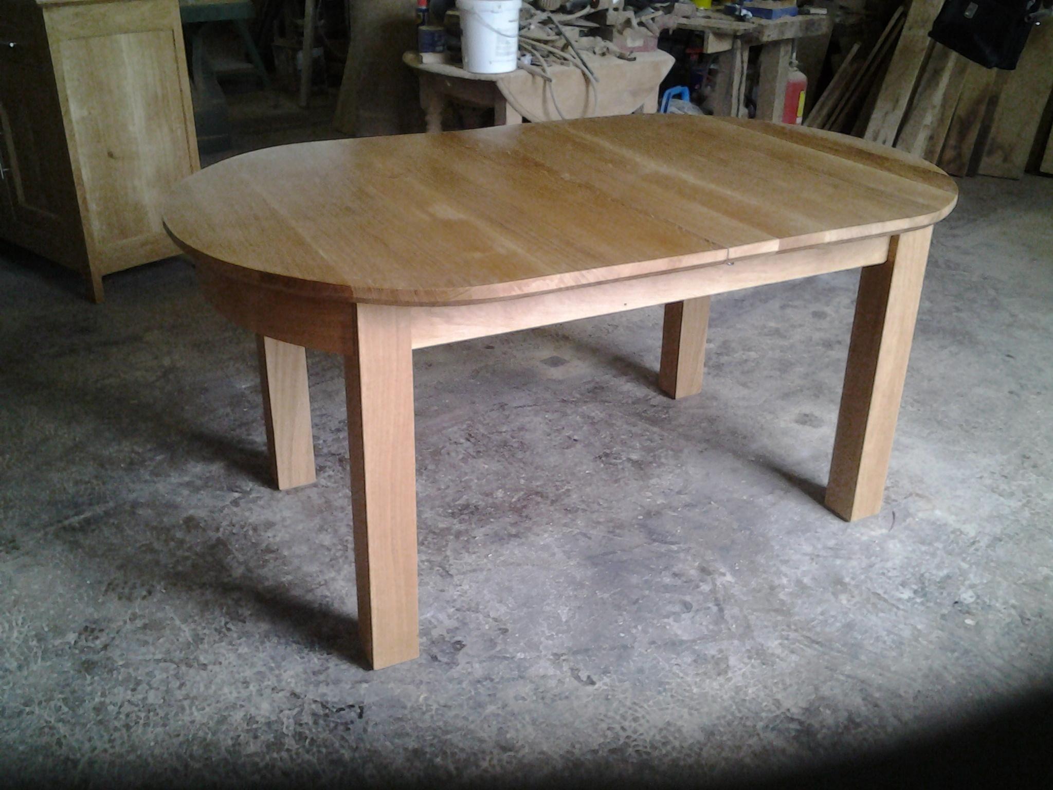 Table ovale   Table ferme sur Meubles Voiriot Franck, fabrication ...