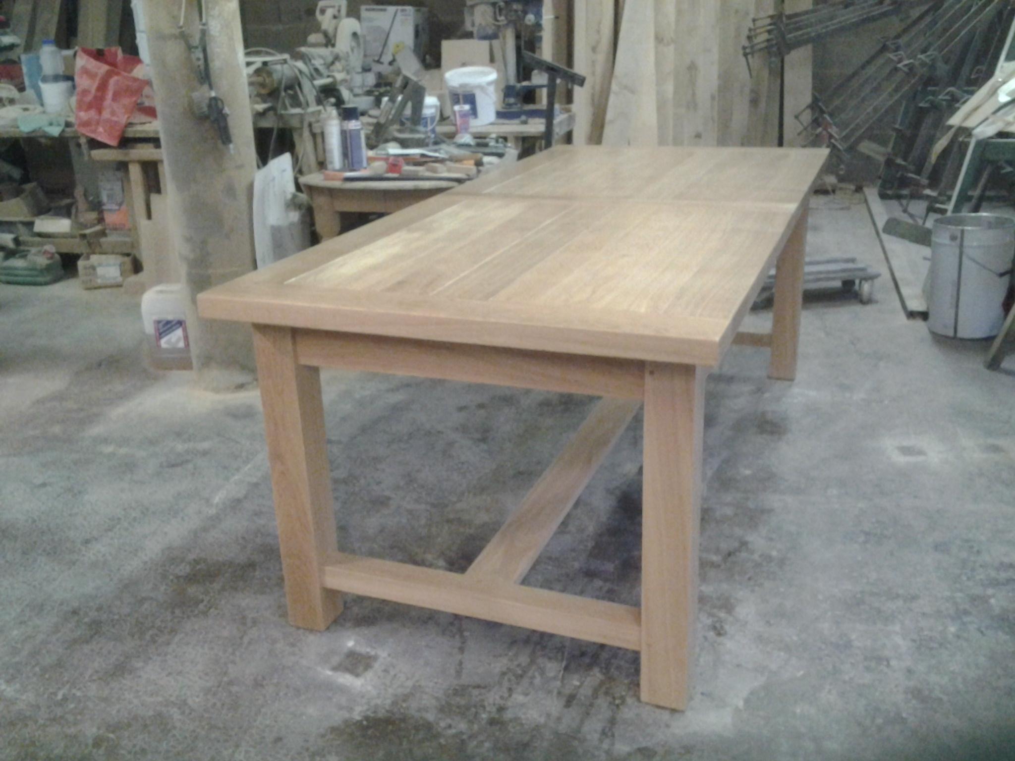 table de ferme   Table ferme sur Meubles Voiriot Franck ...