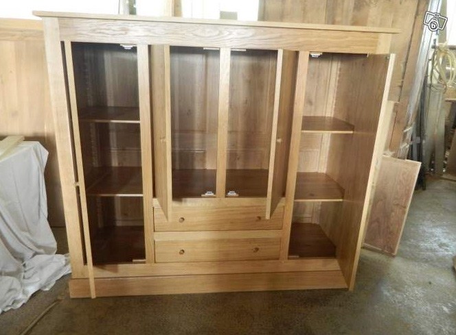 Armoire 4 portes - 2 tiroirs | Armoires sur Meubles Voiriot Franck ...